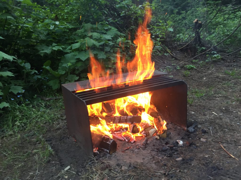 Lagerfeuer - Erlebnsiwanderun mit Pferden Konstanz
